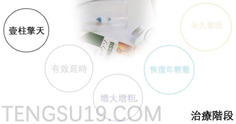 日本藤素保養6個階段