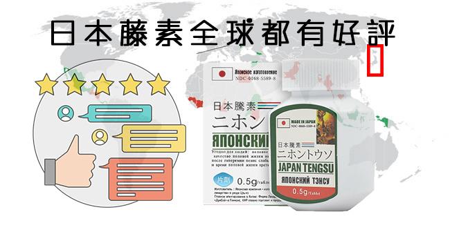 日本藤素評價